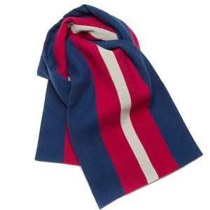 Blue Red Scarf Mens Category